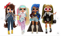 LOL Surprise OMG Fashion Doll Candylicious/Alt Grrrl/Busy B B/Miss Independant