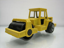 Diecast Majorette Road Roller No.226 Yellow Very Good Condition