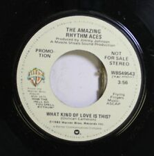 Soul Promo Nm! 45 The Amazing Rhythm Aces - What Kind Of Love Is This? / What Ki