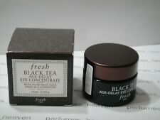 FRESH Black Tea Age-Delay Eye Concentrate Full Size  15ML With Box
