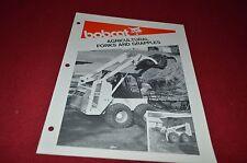 Bobcat Skid Loader Agricultural Forks & Grapple Dealers Brochure DCPA2