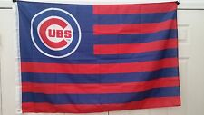 New listing Chicago Cubs Stars & Stripes 3' x 5' Flag Very Unique 3x5