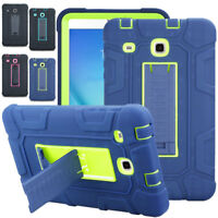 Shockproof Heavy Duty Stand Case Cover For Samsung Galaxy Tab 3/E Lite 7.0 T110