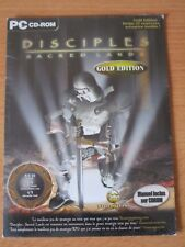 JEUX VIDEO DISCIPLES SACRED LAND GOLD EDITION PC CD-ROM WINDOWS