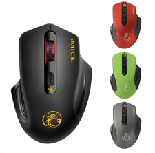 2.4Ghz Mini Wireless Optical Gaming Mouse Mice +USB Receiver Adjustable 1600DPI