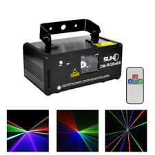 SUNY DMX Control 400mW RGB Laser Beam Scan Light Show DJ Event Party Stage Club