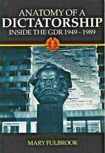 Mary Fulbrook - Anatomy Of A Dictatorship - Paperback - 1997 - UK FREEPOST