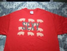 XL- Sexy Pigs C Port Brand T- Shirt