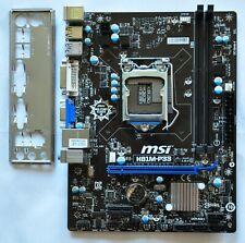 MSI H81M-P33, LGA 1150/Sockel H3, Intel Motherboard (7817-019R)