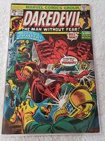 Marvel DAREDEVIL #110 (1974) Black Widow, Thing, Hanna, Gene Colan, Steve Gerber