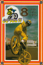Vintage 1980's Ultimate BMX Bike Happy 8th Birthday Greeting Card ~ 8 Years Old