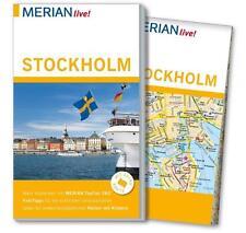 MERIAN REISEFÜHRER Stockholm 2015/16+ STADTPLAN; UNGELESEN, wie neu~ MERIAN LIVE