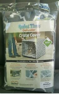 """Midwest Quiet Time Defender Crate Cover Gray Med. Model:CVR30T-GY 30""""x19""""x 21"""""""