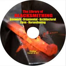Blacksmith Farm Horseshoe Metal Work Welding Forge Wrought Iron Temper Comp DVD