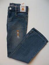 NWT Gymboree Butterfly Blossoms Blue Jeans 9 Denim Girls Bootcut Boot Cut BTS