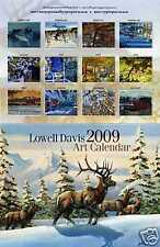 2009 Lowell Davis Calendar - Wildlife Rural Train Art