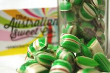 1kg Choc Mint Humbugs Rock Candy Bulk lollies - Wedding Favours Party
