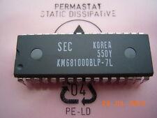 Km681000blp-7l 128k x8 bit Low Power SRAM dip-32 Samsung