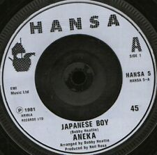 "ANEKA japanese boy uk 1981 HANSA 5 plastic label 7"" WS EX/"