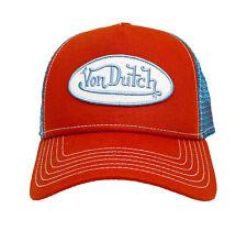 Von Dutch Trucker Cap orange/blue