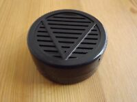 """Other Quality Importers Black Round Cigar Humidor Humidifier 2 1/4 """" X 1/2 """""""