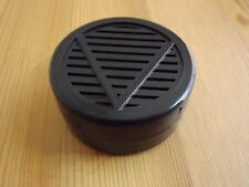 "Other Quality Importers Black Round Cigar Humidor Humidifier 2 1/4 "" X 1/2 """