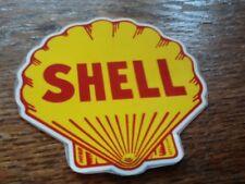 sticker autocollant SHELL coquillage   1