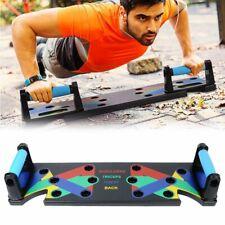 9 in 1 Push-Up Rack Board Training Liegestützgriffe Körperkraft System Gymnastik