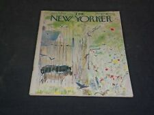 1963 JUNE 15 THE NEW YORKER MAGAZINE - ILLUSTRATED COVER - NY 818