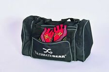 c4a51bd24a2e UltimateGear Triple Pocket Small Black Duffel Gym Bag with Shoulder Strap
