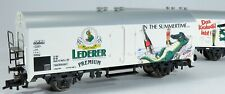 "Trix 23870 H0 Set 2x DB Kühlwagen Bierwagen ""Lederer Premium"", KKK, NEM"