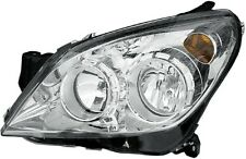 HELLA GENUINE OEM 1LG270370-631 LEFT HEADLIGHT OPEL ASTRA H '07-> CHROME