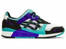 Asics Sportstyle Men's Shoes GEL-LYTE III OG 1201A051 WHITE/TECHNO CYAN