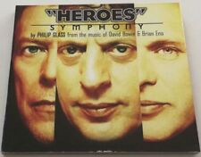 PHILIP GLASS HEROES SYMPHONY (FROM THE MUSIC OF DAVID BOWIE & BRIAN ENO) CD