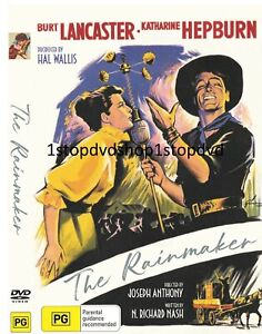 The Rainmaker DVD 1956 Burt Lancaster Brand New and Sealed Australia
