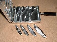 Saltwater Wobble Fish Jig mold 1,1.5,2,3oz CNC Aluminum Herring