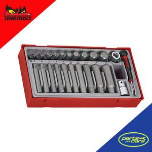 TTHEX23 - Teng Tools - 23 Piece Hex Bit Set