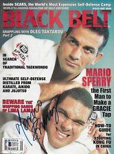 Mario Sperry Signed May 1999 Black Belt Magazine BAS Beckett COA Pride FC Auto'd