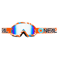 O'NEAL B-10 STREAM BRILLE GOGGLE ORANGE BLUE-RADIUM *HAMMERPREIS*