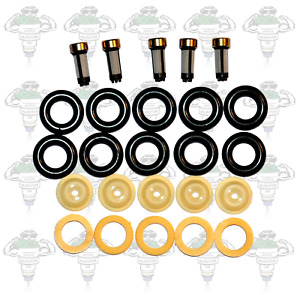 Bosch 0280150 Series Fuel Injector Seals & Filters Kit For 5 Cylinders - Kit 26