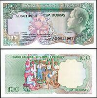St. Saint Thomas & Sao Tome 100 Dobras , 1989 , UNC , P-60