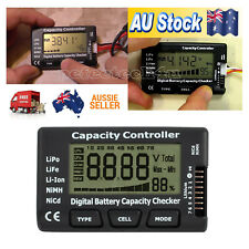 Digital Battery Capacity Controller Voltage Checker Meter LiPo Li-lon Balancer