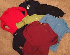 Under Armour Lot! Small Medium Large XL Long Short Sleeve Fitted NWT Mock