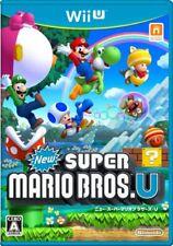 USED Wii U - New Super Mario Bros. U Japan Import