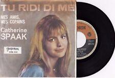 "CATHERINE SPAAK TU RIDI DI ME RARE 1964 EP RECORD YUGOSLAVIA 7"" PS"