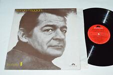 SERGE REGGIANI Poetes 1 LP 1973 Polydor Canada 2473-027 VG/VG+ Pop Chanson