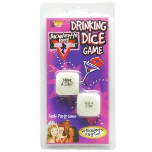 BACHELORETTE/HENS NIGHT ADULT PARTY GAME DRINKING DICE GAME BRAND NEW