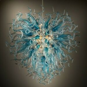 Chandelier&Ceiling Fixtures,Handmade, Blown Murano Glass,Hanging,Lamp Home Decor