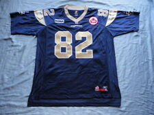 Terrence Edwards Winnipeg Blue Bombers AUTHENTIC Reebok Jersey SEWN!!!
