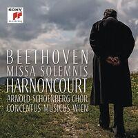 HARNONCOURT/MUSICUS WIEN/SCHOENBERG CHOR-MISSA SOLEMNIS IN D MAJOR,OP.123 CD NEU